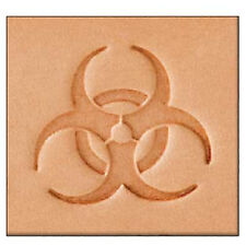 Biohazard Leather Stamp 8599-00 Tandy Leather