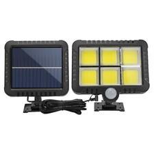 120 COB Solar PIR Motion Sensor Wall Light Outdoor Waterproof Garden Yard  WT7n