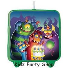 Monster Mania Birthday - Cake Candle Decoration - Free Post In UK