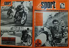LO SPORT N°14/ 03 APR.1952 IL TRIONFO DI MORESCO AL GIRO DI TOSCANA - VIVOLO -