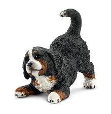 Schleich 16398 Bernese Mountain Dog Puppy Model Animal Figurine Toy -