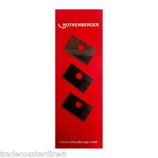 Rothenberger 5.9000 Cuchillas de Repuesto plasticut-Paquete de 3