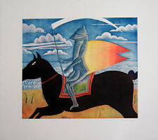 "Thomas McKnight ""Knight"" Hand Signed Limited Ed. Etching"