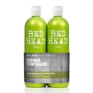 TIGI Bed Head GREEN RE-ENERGIZE Shampoo 750ML + Conditioner 750ML (DUO PACK)