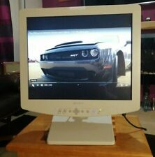 """Sony 19"""" LMD LCD Flat Panel Monitor With Power Supply, Stand and Cables"""