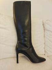 "Hobbs Black Leather Knee High Boots  ""Sadie Longboot"" EU 41 BNIB RRP £279"