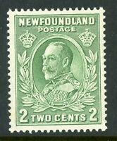 Canada 1932 Newfoundland 2¢ KGV Scott #186 MNH F316