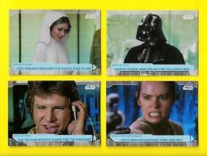 2021 Topps Star Wars Battle Plans Foilboard Parallel Foil Cards 1-100 You Pick