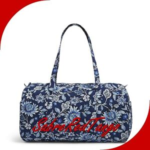 NWT VERA BRADLEY QUILTED LARGE TRAVELER DUFFEL GYM BAG FLORAL TROPICS TAPESTRY