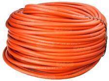 (7,79 €/m) 100m Schweißkabel rund Kabel rot ummantelt PVC 200V 217A high flex