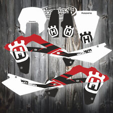 Husqvarna WR 300 2stroke 07-12 GRAPHICS KIT