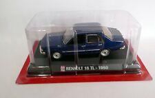 Ixo  Auto Plus 1/43 Voiture RENAULT 18 TL 1980 bleu