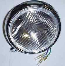6V HALOGEN BULB HEADLIGHT (GLASS LENS) (STEEL RIM) CT70 K0'S 1969 TO 71 OFF_ROAD