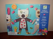 Djeco Collages for Infants Design by Barbouille - Kid's Art Crafts Ages 3-6- NEW