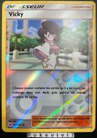 Carte Pokemon VICKY 127/147 REVERSE Soleil et Lune 3 SL3 Française NEUF
