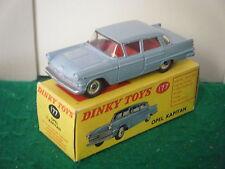 "Dinky no: 177 ""Opel Kapitan Saloon"" - Luz Azul (Original 1960)"