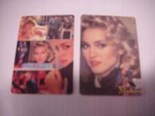 MADONNA Non-Sport Trading Card Trans - Atlantik Set of 1 - 6 Calendar Back 1988