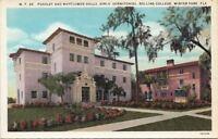 Postcard Pugsley  Mayflower Girls' Dormitories Rollins College Winter Park FL