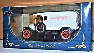 Signature Models 1920 White Van, New in Original Box