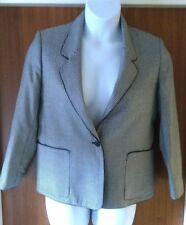 Size 14 English Made Vintage/Retro 1980's Windsmoor Fine Houndstooth Jacket (7)