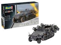 Revell 03324 Sd.Kfz. 251/1 Ausf. C + Wurfr. 40 1:72 Plastic Model Kit