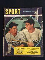 SPORT Magazine (Vintage) Sept 1947 Joe DiMaggio & Dom DiMaggio  M1042