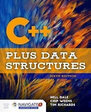 C++ Plus Data Structures 6th Edition with Navigate Access Code