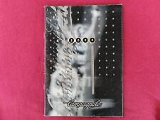 Year 2000 Campagnolo catalog very good > excellent condition in Spanish