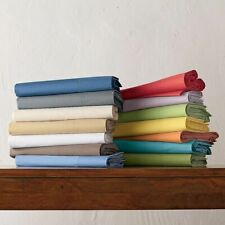 Queen Size 4 PCs Soft Sheet Set Extra Deep Pocket Egyptian Cotton Solid Colors