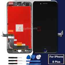 BLACK Replacement For iPhone 8 PLUS Assembly LCD Digitizer Screen Display Frame