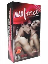 100 CONDOMS OF MANFORCE STRAWBERRY FLAVOURED CONDOM WITH FREE WORLDWIDE SHIPPING