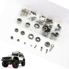RC Car Screws Shielded Bearing Kit Set for AXIAL SCX10II Jeep AX90046 90047 1/10
