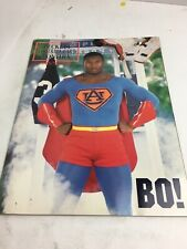 BO JACKSON BECKETT FOOTBALL MONTHLY SUPERMAN 1991 PRICE GUIDE MAGAZINE