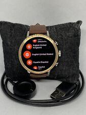 Fossil Gen 4 Authentic Digital Dial Smart Watch Custom Band FTW6016 LT359