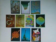 10 cartes postales MORDILLO / VERLAG tendance  VUE UNIQUE