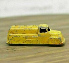 Vintage Goodee Die-cast Yellow Tanker Truck Excel Products Metal Good Condition