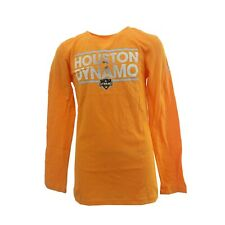 Houston Dynamo MLS Adidas Kids Youth Girls Size Long Sleeve Shirt New Tags