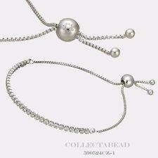 "Authentic Pandora Sterling Silver Sparkling Strand CZ Bracelet 9.8"" 590524CZ-2"