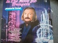 JAMES LAST - IN THE MOOD FOR TRUMPETS - 1975 VINYL LP MADE IN GERMANY - POLYDOR