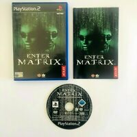 Enter The Matrix (Playstation 2) PS2 - Complete With Manual