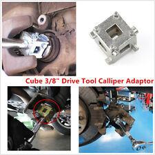 "3/8"" Drive Tool Calliper Adaptor Rear Disc Brake Piston Caliper Wind Back Cube"