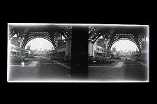 Exposition universelle de 1937 Paris France Plaque négative stéréo