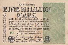 * Ro. 101c - 1 millón de Mark-Deutsches Reich - 1923-Fz: así *