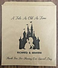 Personalised Wedding Disney theme Sweet, Candy cart, Cake & Favour Bags