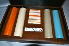 RARE Victorias Secret Very Sexy For Him Poker Set Dice Cards Chips Case NWT