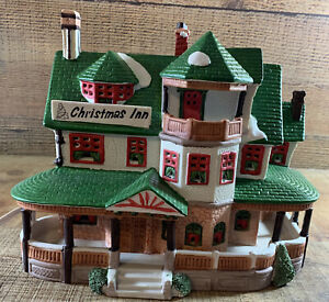 Vintage 1994 Lemax Dickensvale Collectibles Christmas Inn Village Piece Lighted