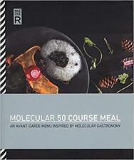 Molecule-NEW R Molecular Gastronomy COOKBOOK 50 New Recipes Culinary Hardback UK