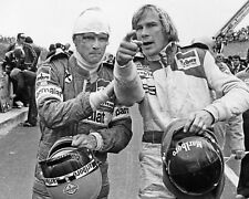 JAMES HUNT AND NIKI LAUDA 21 (FORMULA 1) KEYRINGS-MUGS-PHOTOGRAPHS