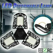 6000LM LED Emergency Garage Lamp 85-265V LED E26 Fan Ceiling Light 60W US Ship