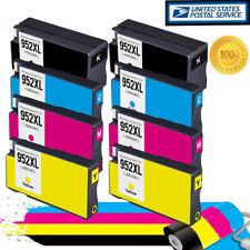 8PK For HP 952XL 952 Ink Cartridge Officejet Pro 8710 8715 8716 8720 8725 8728